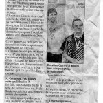 Article progrès septembre 2010