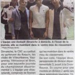 article interclub 6 avril 2008